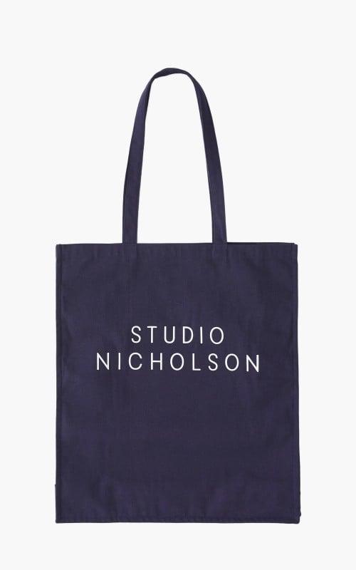 Studio Nicholson Standard Tote Bag Dark Navy