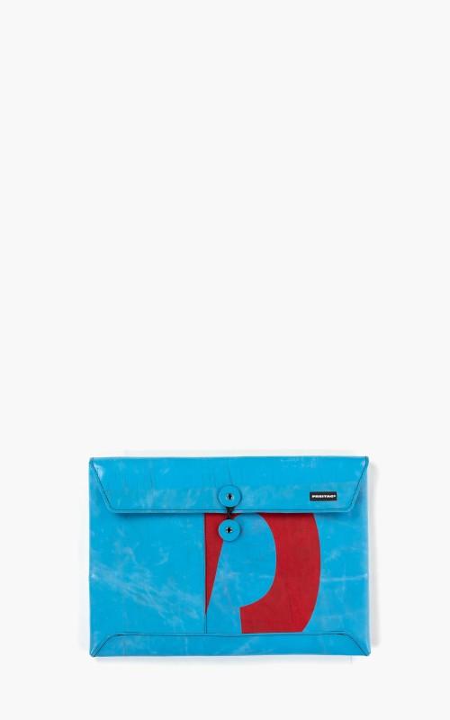 """Freitag F411 Sleeve Padded Laptop Envelope 13"""" Blue 6-5"""