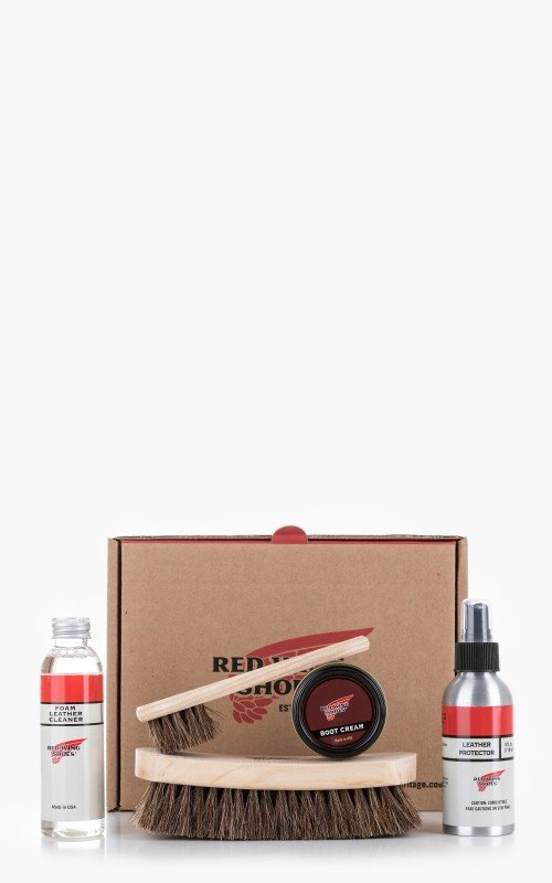 Red Wing Shoes Smooth Finish Leather Care Kit