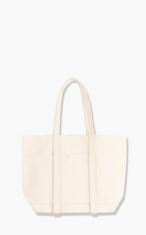 Amiacalva Washed A126 Canvas 6P Tote Bag S White