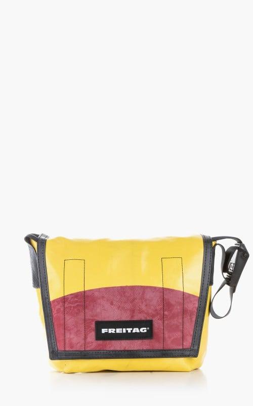 Freitag F11 Lassie Messenger Bag Classic S Yellow 6-1