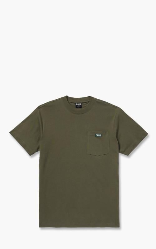 Filson Ranger Solid Pocket T-Shirt Service Green