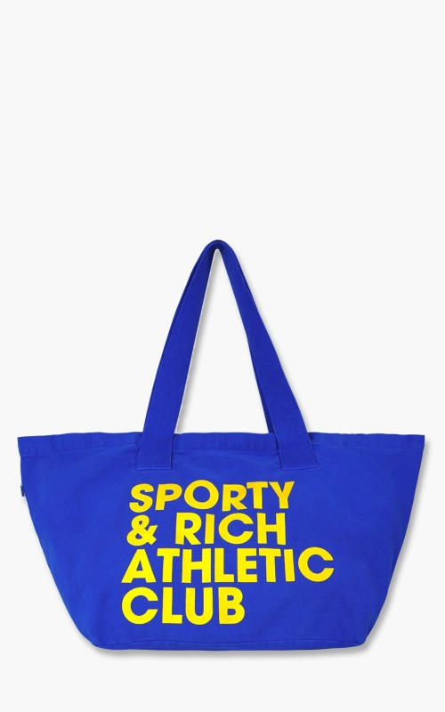 Sporty & Rich Exercise Often Tote Bag Royal Blue