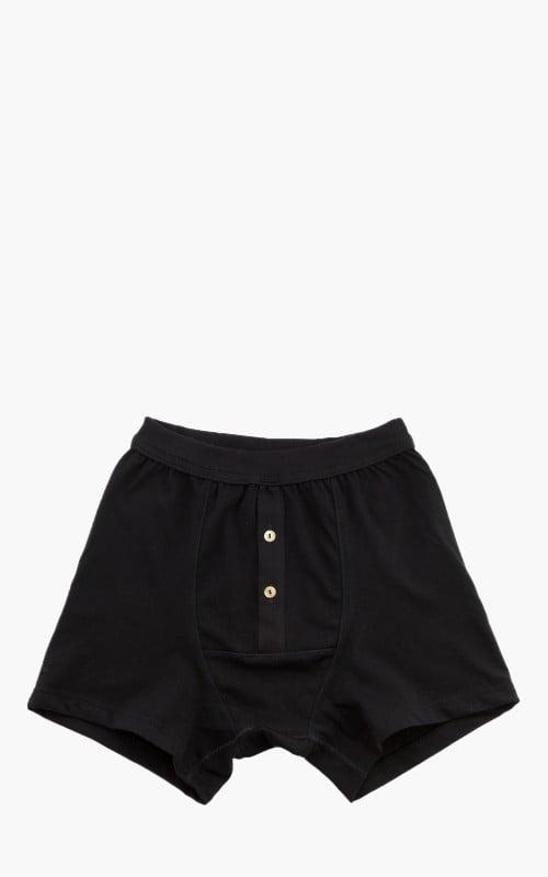 Merz b. Schwanen 255 Button Facing Underpants Black