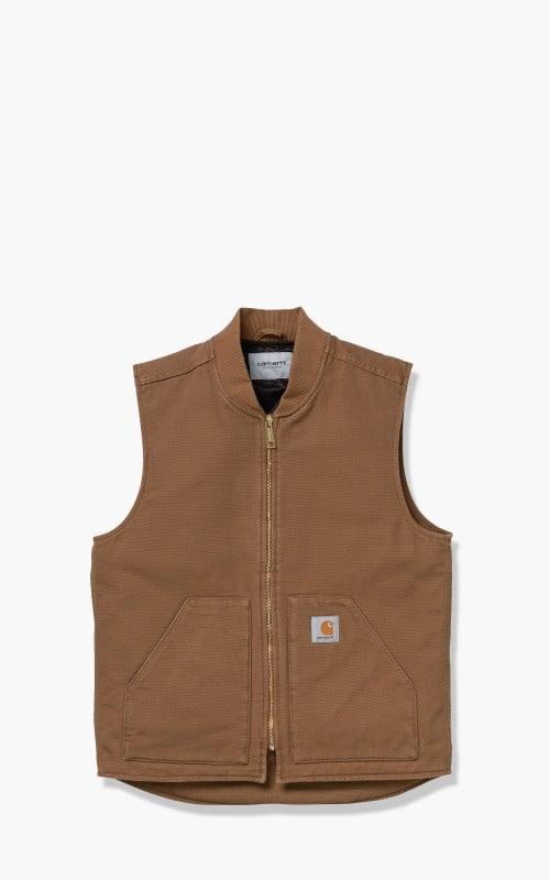 Carhartt WIP Vest Hamilton Brown I015251.HZ.00.03