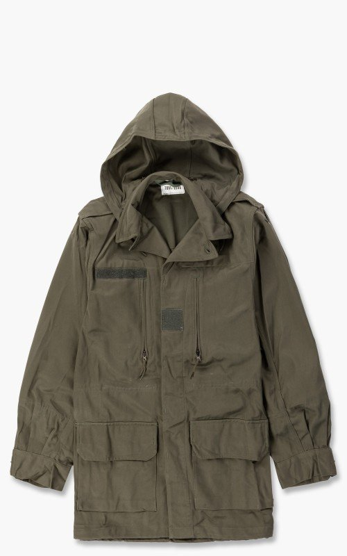 Military Surplus French Hooded Parka F1/F2 Olive
