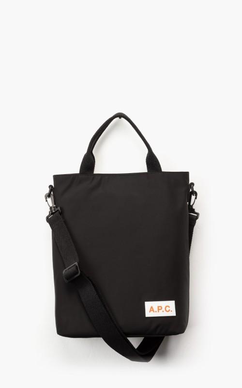 A.P.C. Cabas Bag Protection Black