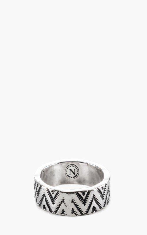 North Works W-050 Ring 900 Silver