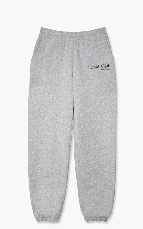 Sporty & Rich Health Club Sweat Pant Heather Grey