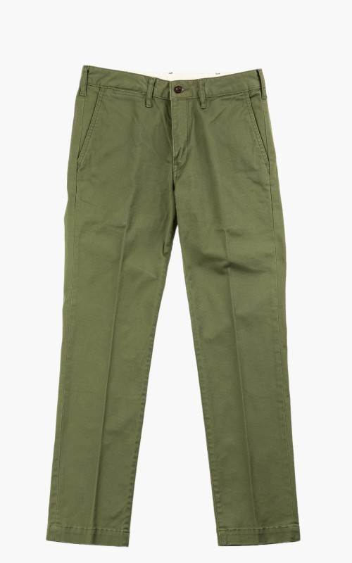Japan Blue French Trousers Olive Drab
