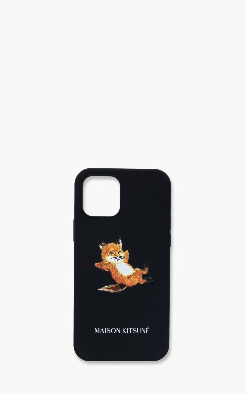 Maison Kitsuné iPhone 12/iPhone 12 Pro Case Chillax Fox Dark Navy