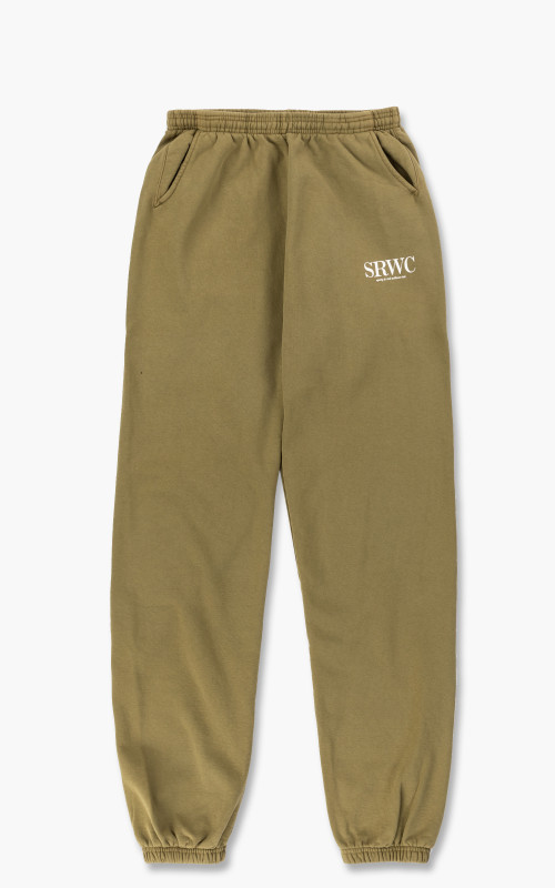 Sporty & Rich Upper East Side Sweat Pant Olive