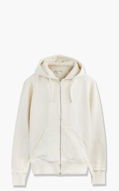 Merz b. Schwanen HDJKT02 Hooded Zip Jacket Oat