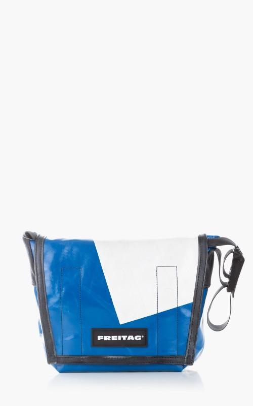 Freitag F11 Lassie Messenger Bag Classic S Blue 6-1