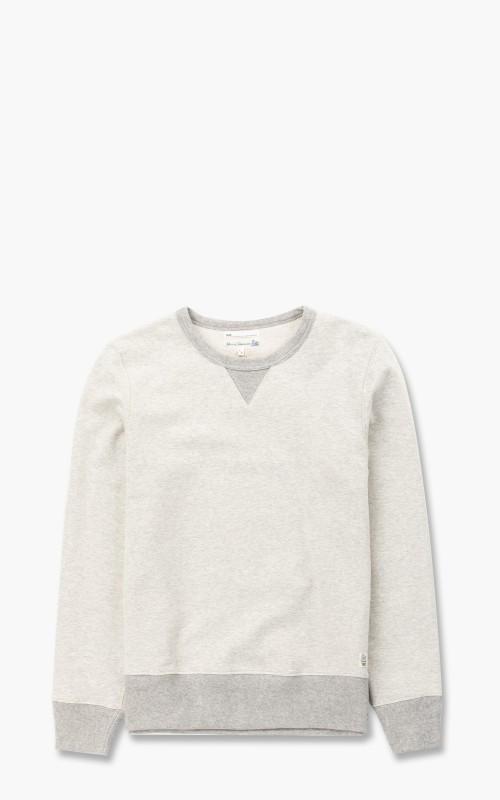 Merz b. Schwanen TR348 Sweatshirt Nature Melange/Grey Melange