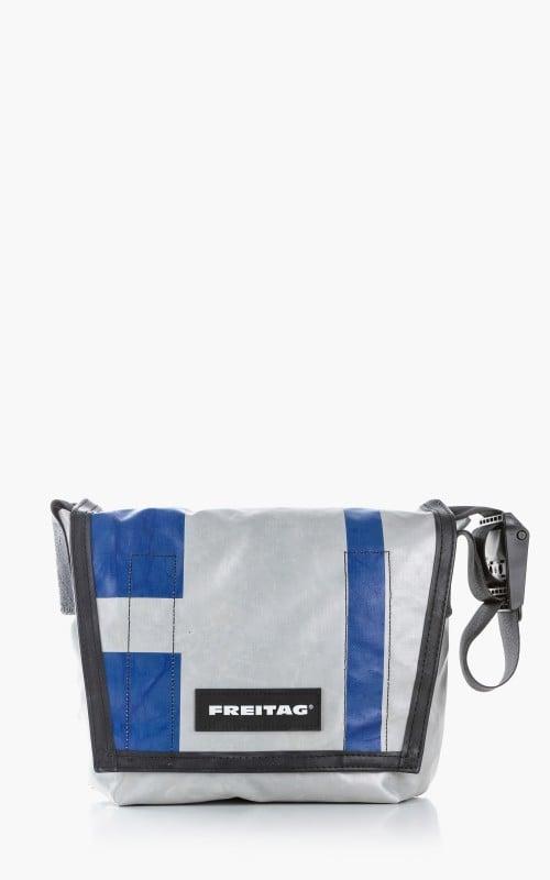 Freitag F11 Lassie Messenger Bag Classic S Silver 6-5