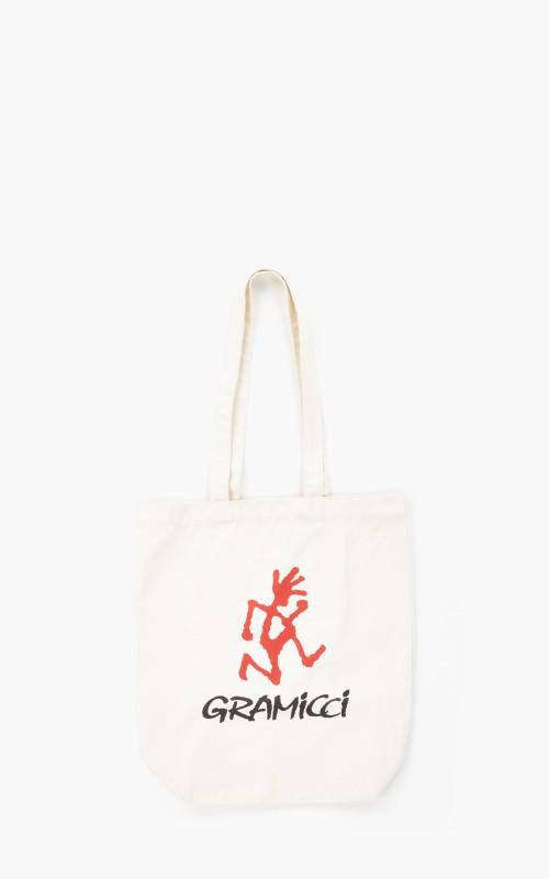 Gramicci Logo Tote Bag Natural