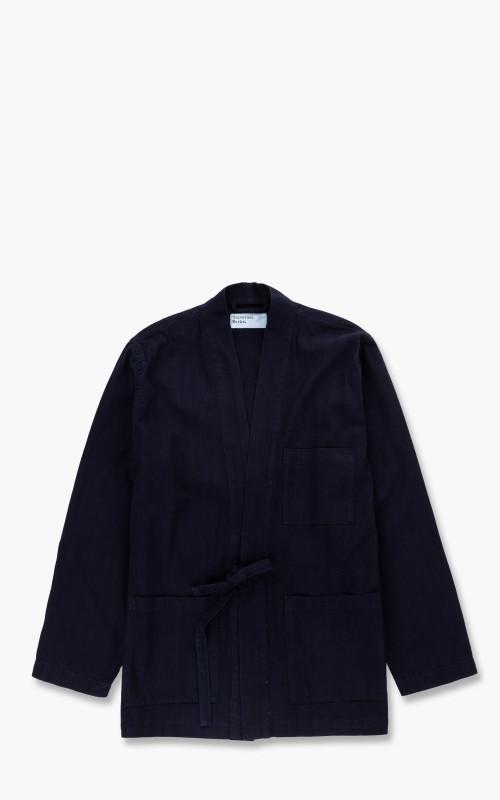Universal Works Kyoto Herringbone Work Jacket Indigo