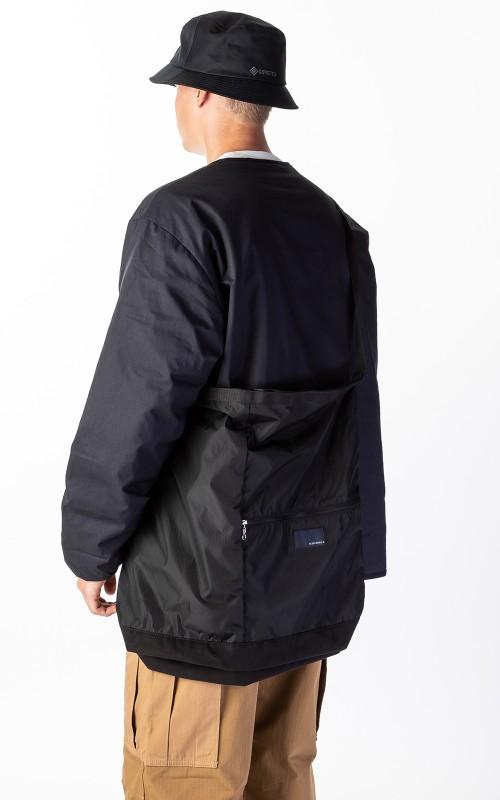 Nanamica nanamica Utility Shoulder Bag L Black