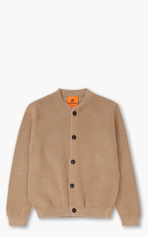 Andersen-Andersen Cotton Skipper Jacket Camel
