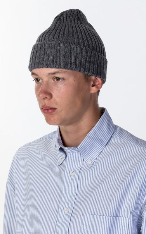 Kijima Takayuki Wool Knit Cap Grey