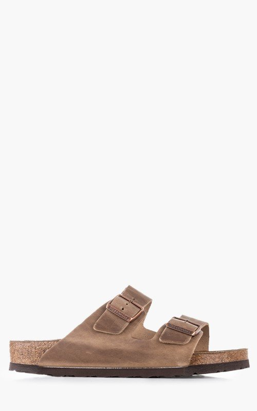 Birkenstock Arizona Oiled Leather Tabacco Brown