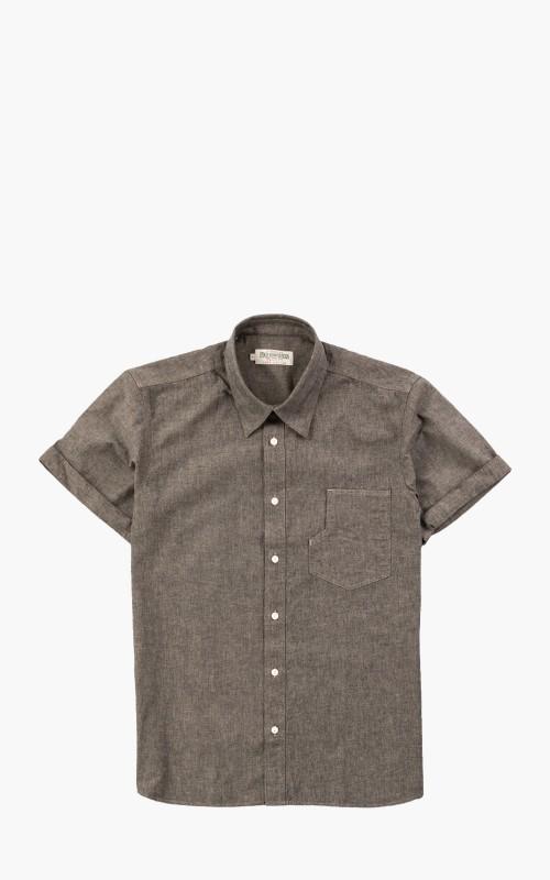 Pike Brothers 1937 Roamer Shirt Short Sleeve Charcoal Grey