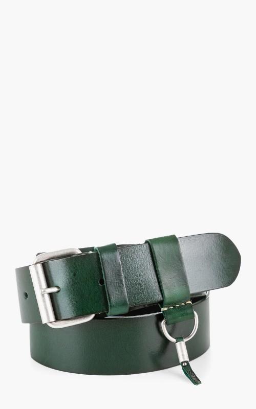 Dukes Plain Belt Green 4,5cm
