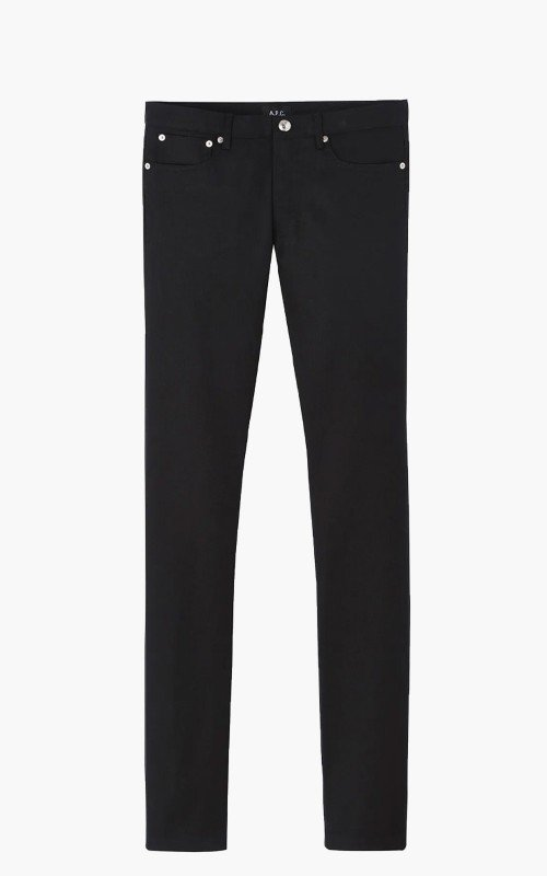A.P.C. Petit New Standard Black Stretch 11.75oz