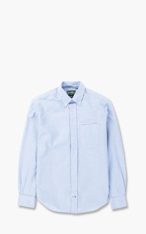 Gitman Vintage Oxford Shirt Blue