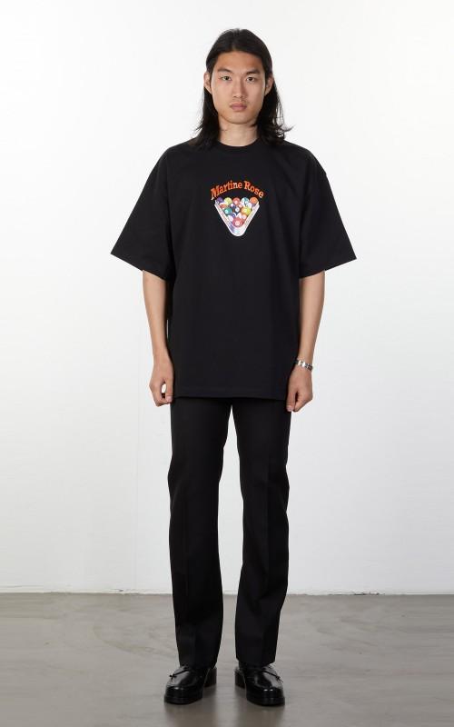 Martine Rose Brittle T-Shirt Black Snooke
