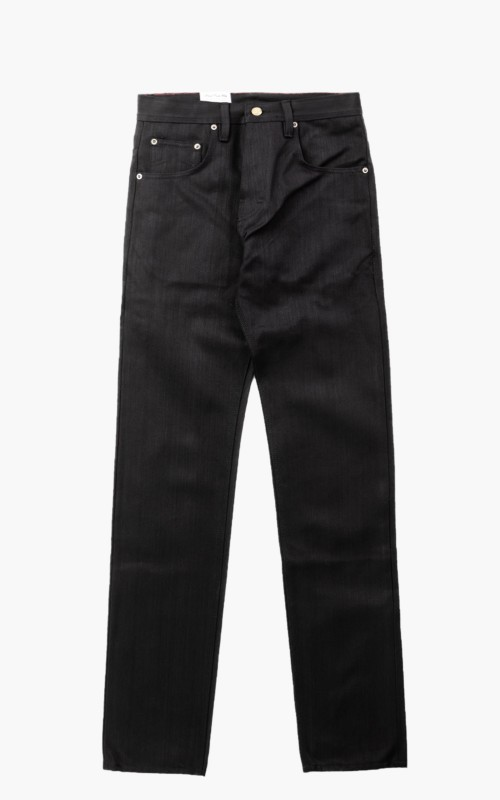 Eat Dust Fit 73 Loose Tapered Jeans Selvage Black 14oz