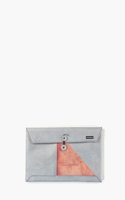 "Freitag F411 Sleeve Padded Laptop Envelope 13"" Silver 6-1"