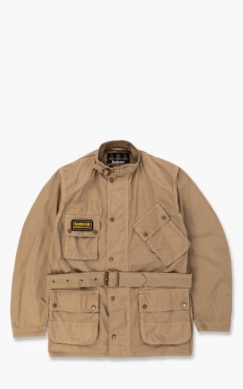 Barbour International A7 Casual Jacket Summer Wash Stone