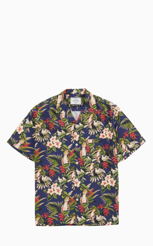 Portuguese Flannel Amazonia Shirt Blue