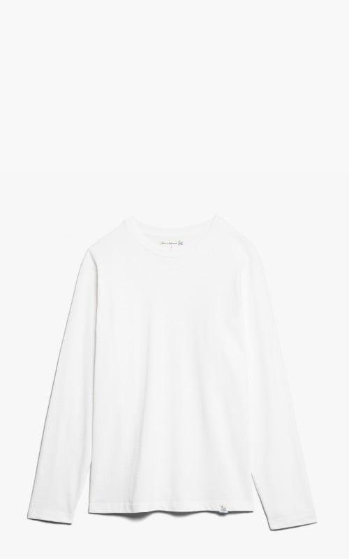 Merz b. Schwanen 218OSLS Oversized Longsleeve White