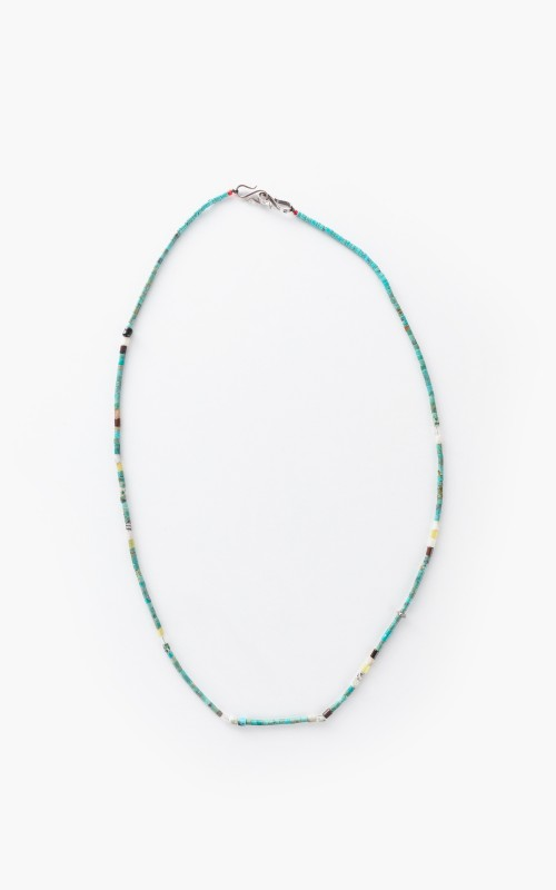 North Works D-506D Stone Mask Holder/Necklace Turquoise