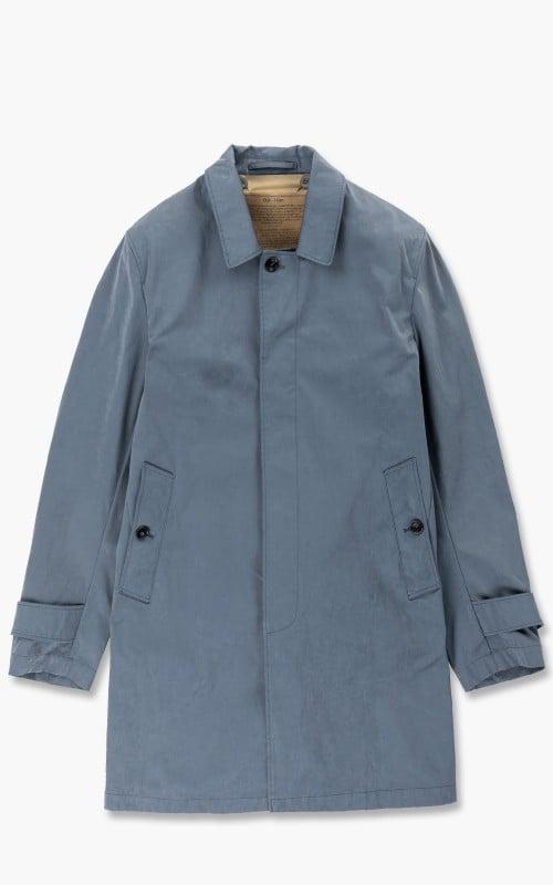Ten C Car Coat Blue Grey
