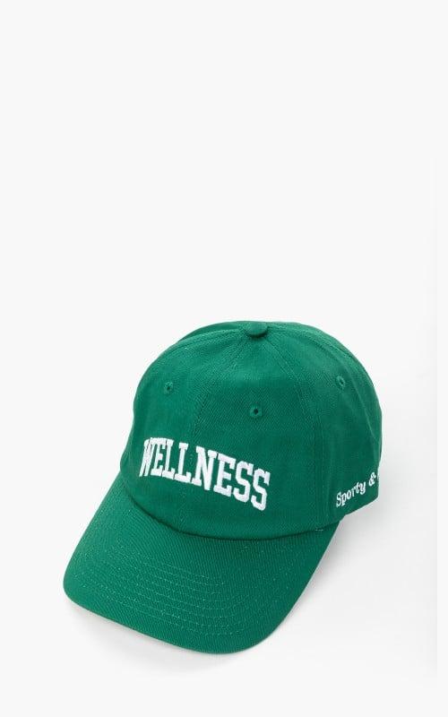 Sporty & Rich Wellness Ivy Hat British Racing Green
