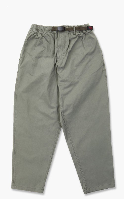 Gramicci Weather Wide Tapered Twill Pants Desert Green