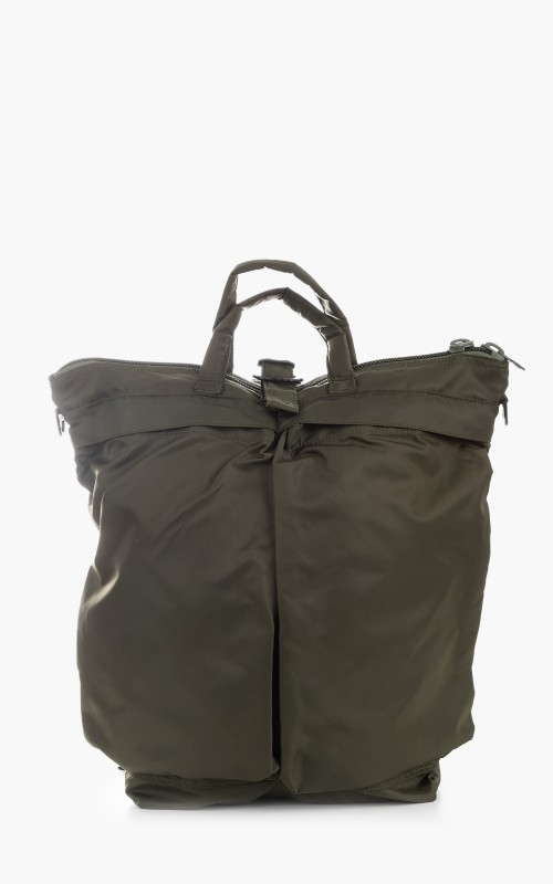 F/CE. Recycle Twill 3Way Helmet Bag Olive