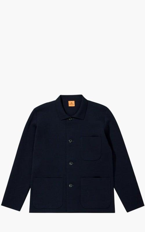 Andersen-Andersen Work Jacket Navy Blue