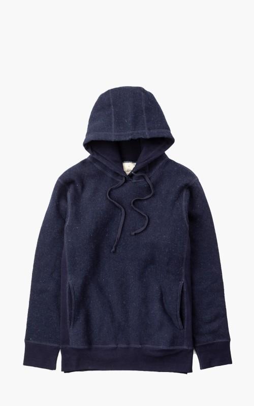 3sixteen Heavyweight Pullover Hoody Indigo Fleece