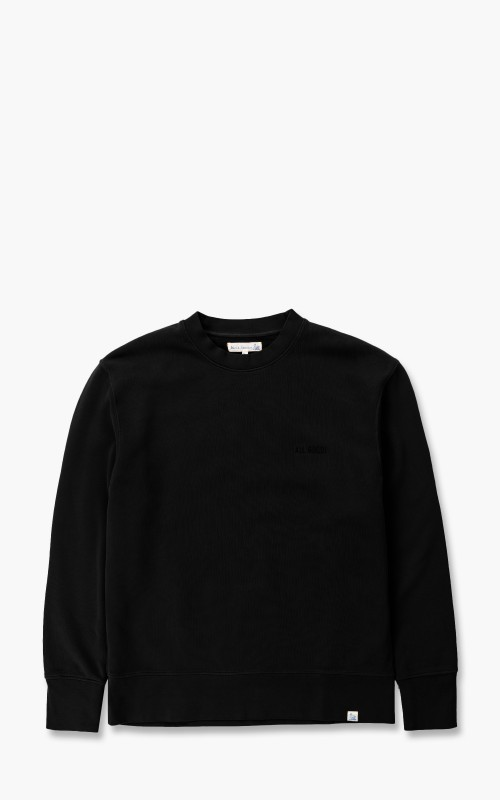 Merz b. Schwanen CSWOS01 Oversized Sweatshirt Black