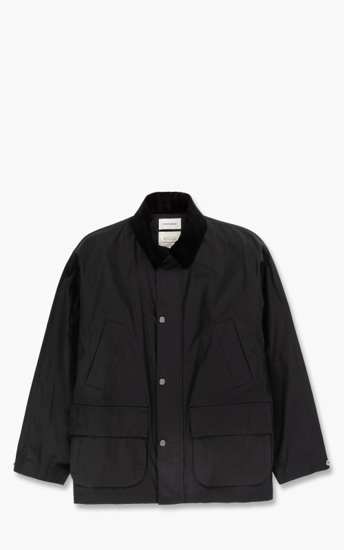 Markaware Biodynamie x Silk Type Writer Wayfarer Coat II Black