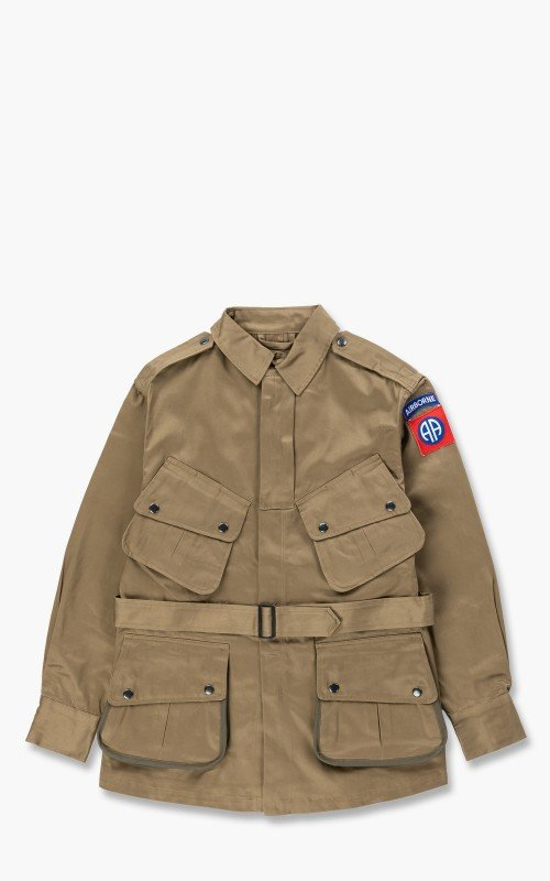 Military Surplus M42 US Para Field Jacket Olive Drab