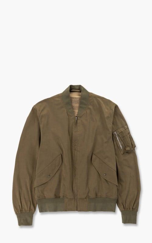 Ten C Flight Jacket Olive