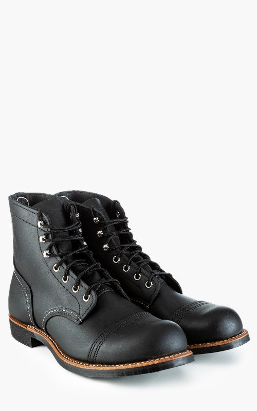 Red Wing Shoes 8084D Iron Ranger Black Harness