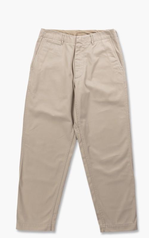 Nanamica Wide Chino Pants Beige