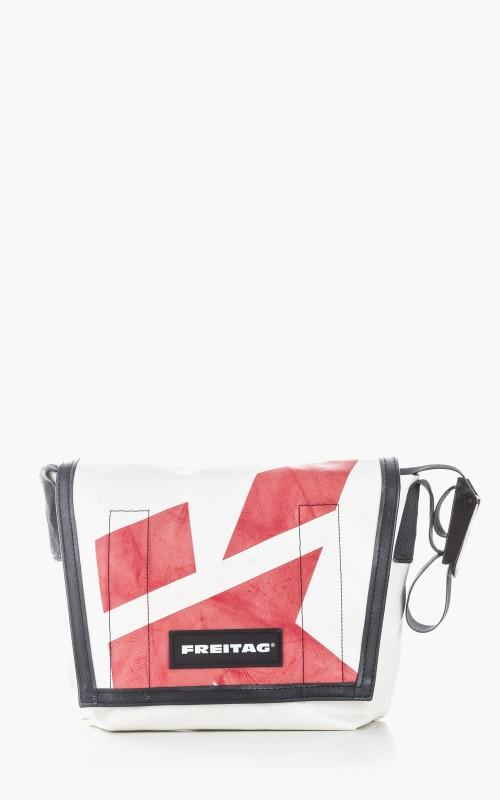 Freitag F11 Lassie Messenger Bag Classic S White 6-4